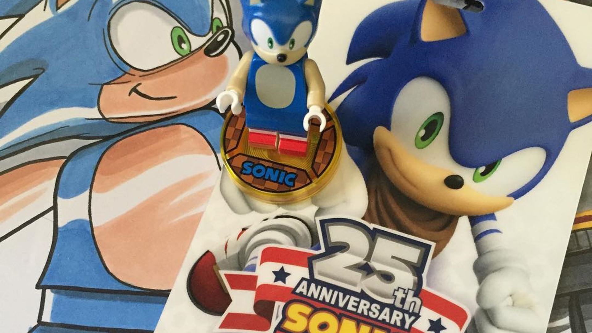First Glimpse Of Lego Dimensions Sonic The Hedgehog Level Pack Mon Amiibo Com
