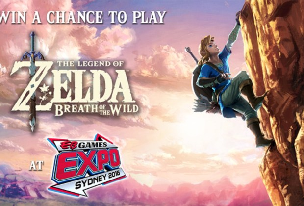 Zelda Breath of the Wild @ EB Expo