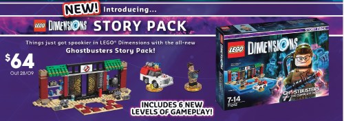 $64 LEGO Dimensions Story Packs @ Target