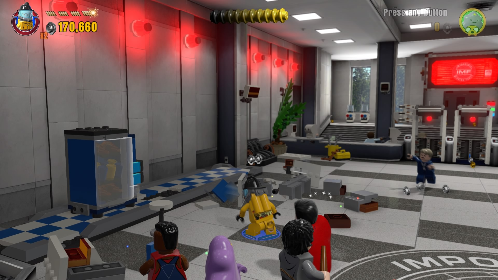 mi secret1 mission impossible level pack minikit and citizen in peril guide LEGO Dimensions Xbox One at gsmx.co