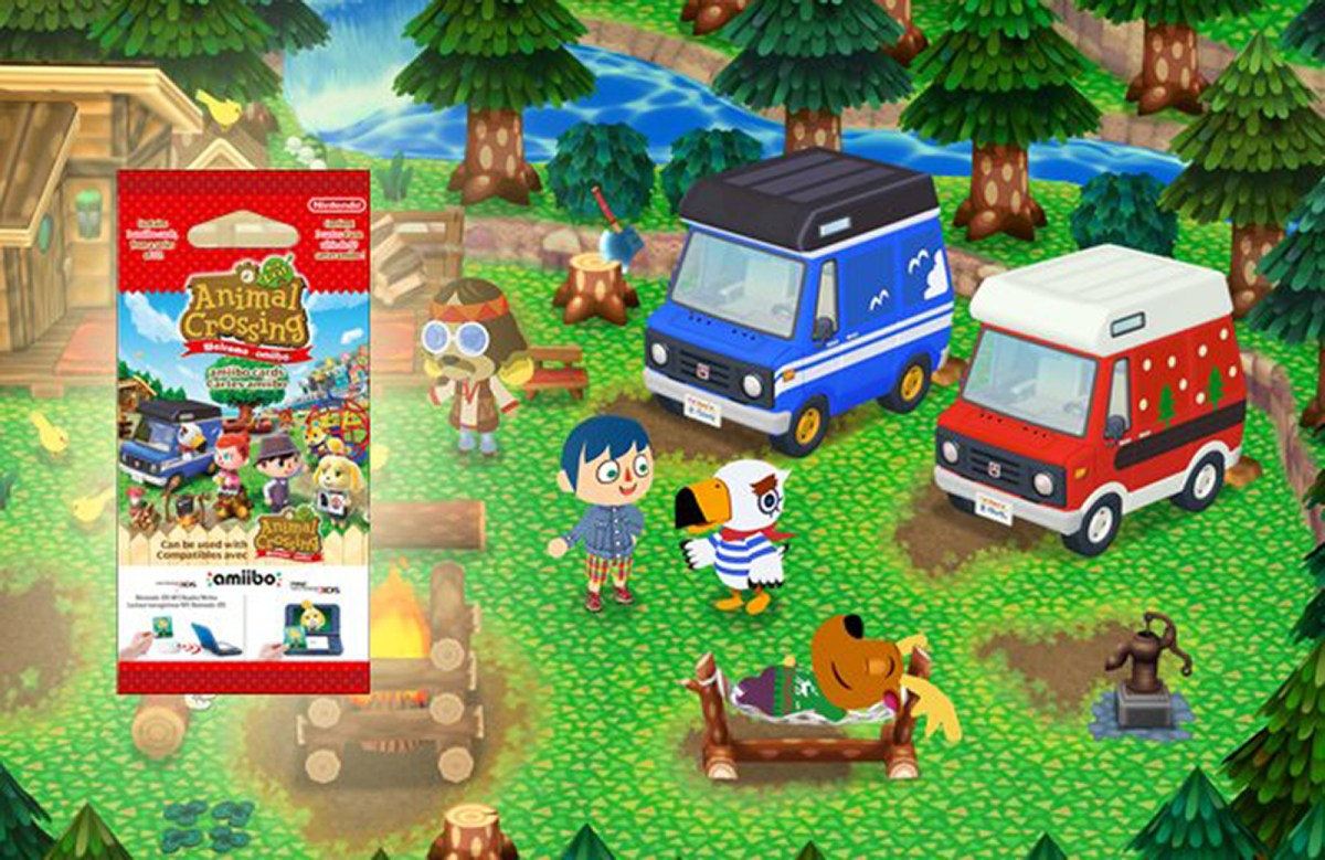 Scans of All 50 New Animal Crossing: New Leaf amiibo Cards