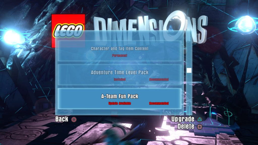 LEGO Dimensions - Updating Packs