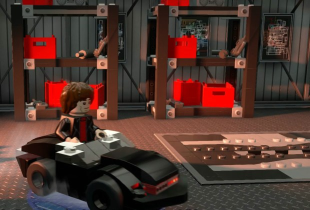 LEGO Dimensions - Knight Rider Fun Pack Gameplay