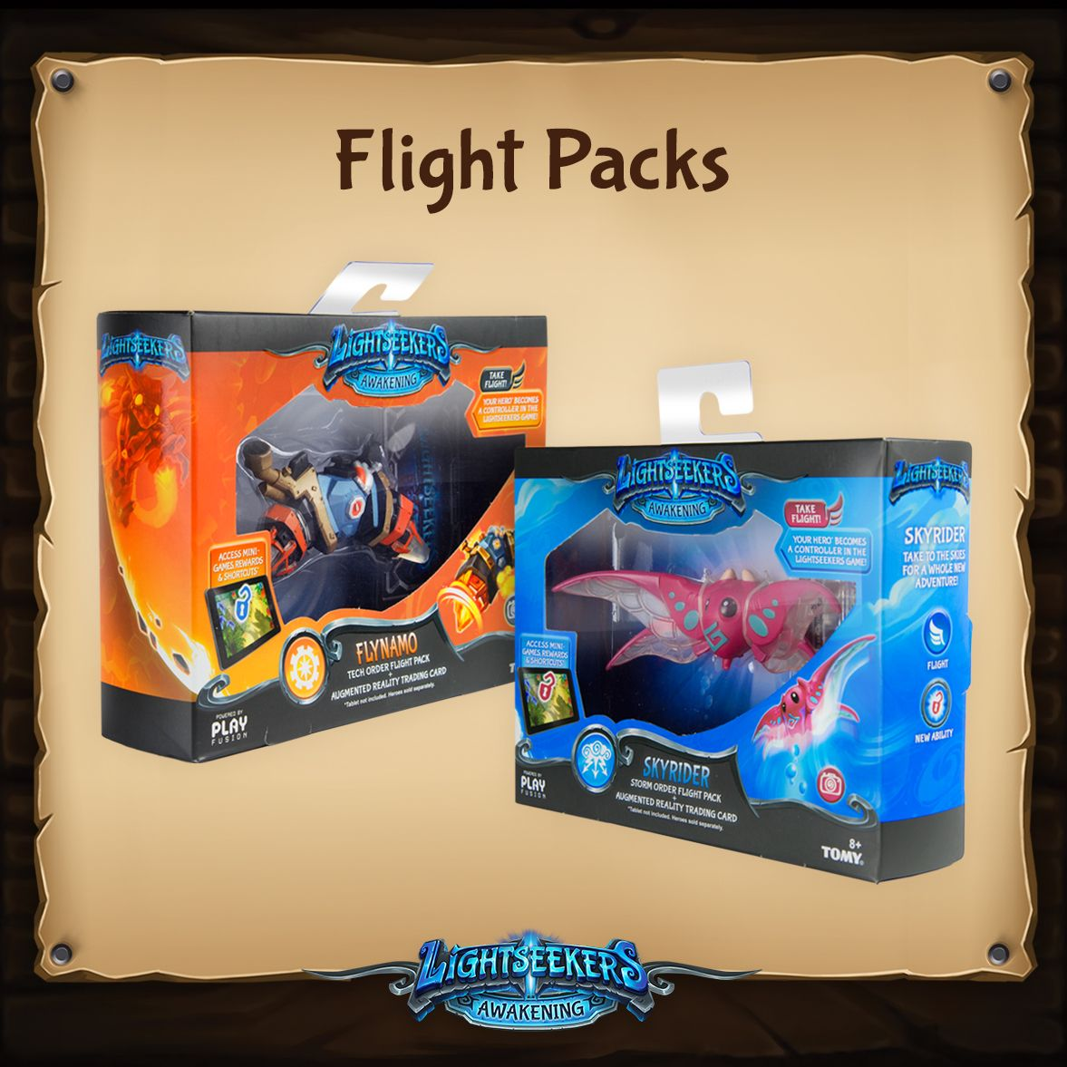 Lightseekers - Flight Pack packaging