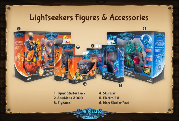 Lightseekers Toy Packaging