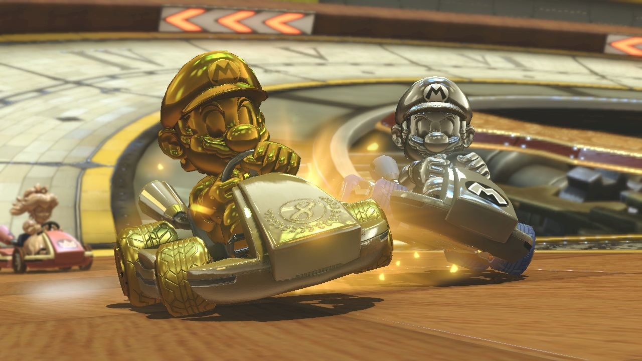 Mario Kart  Golden Car Parts
