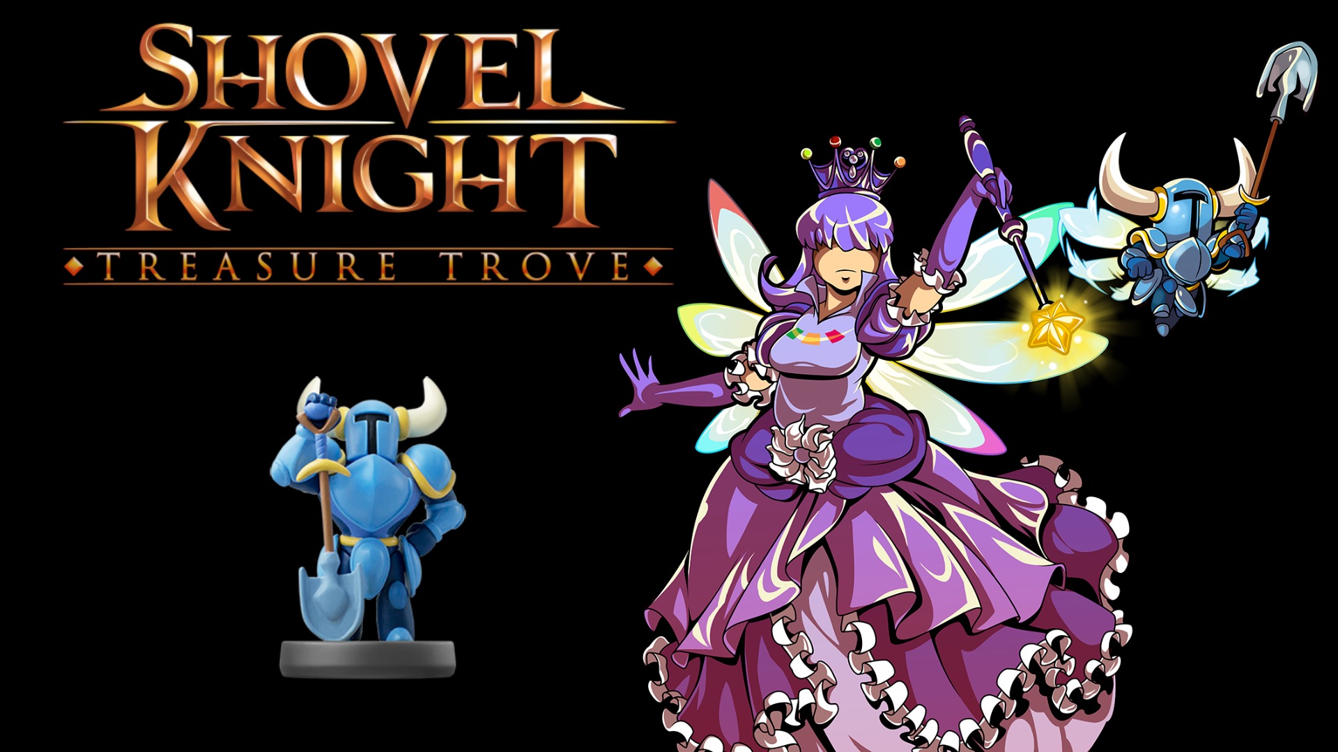 Shovel Knight S New Amiibo Function Is Off With The Fairies Mon