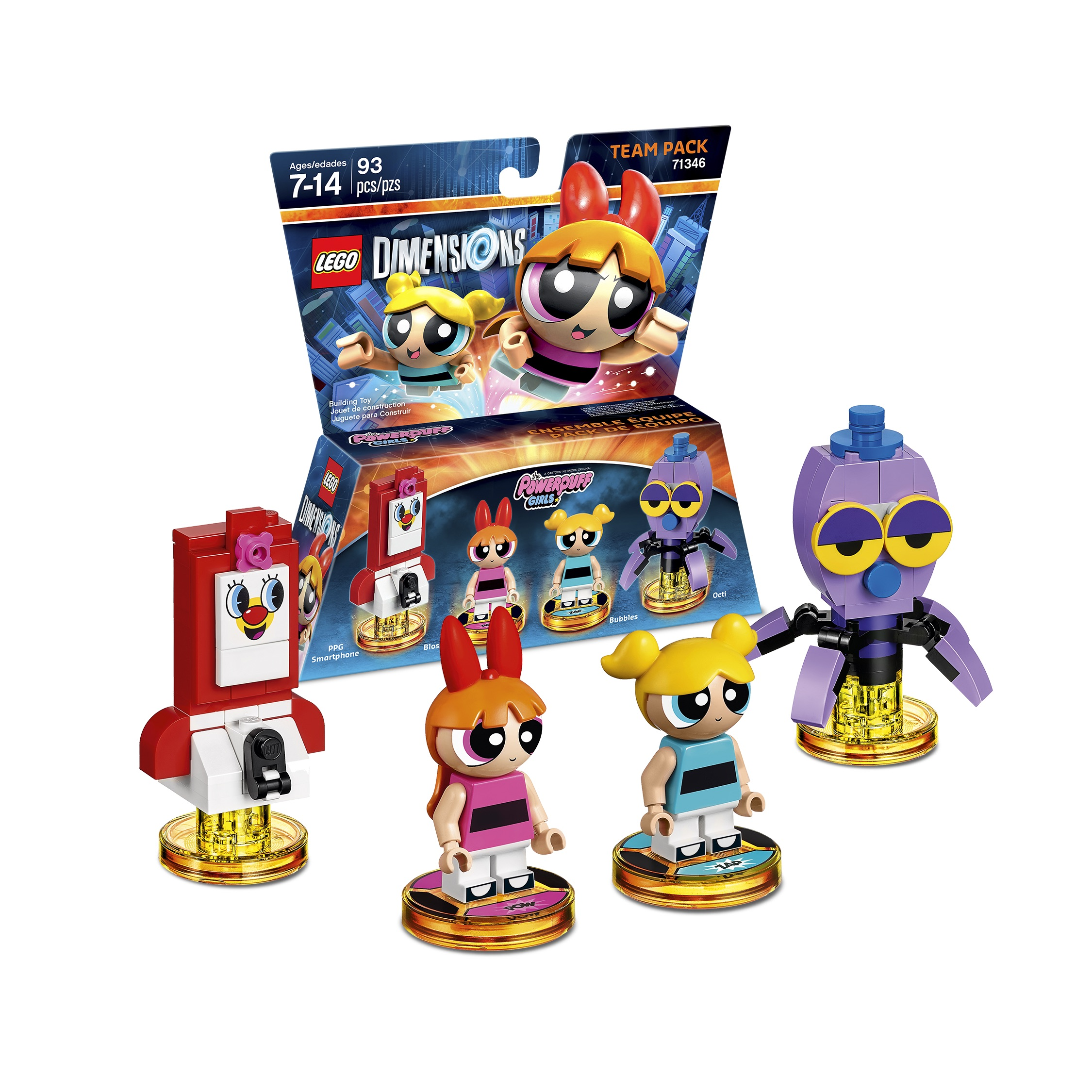 LEGO Dimensions - The Powerpuff Girls Team Pack