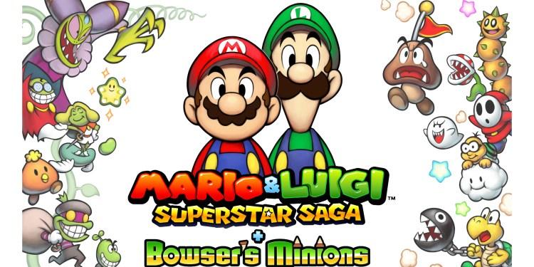 Mario Luigi Superstar Saga Bowser S Minions Mon Amiibo Com