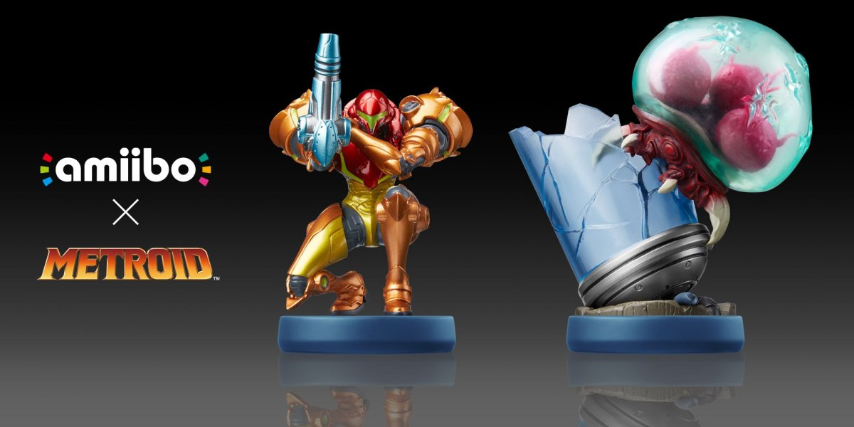 Metroid: Samus Returns amiibo set