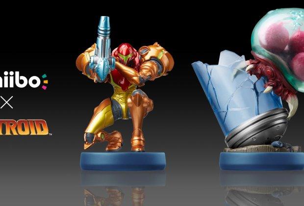 Metroid: Samus Returns amiibo set