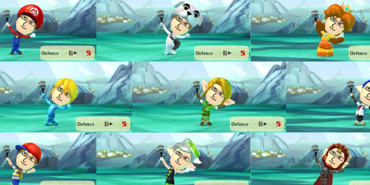 Miitopia Lets You Embarass Your Friends With amiibo Costumes