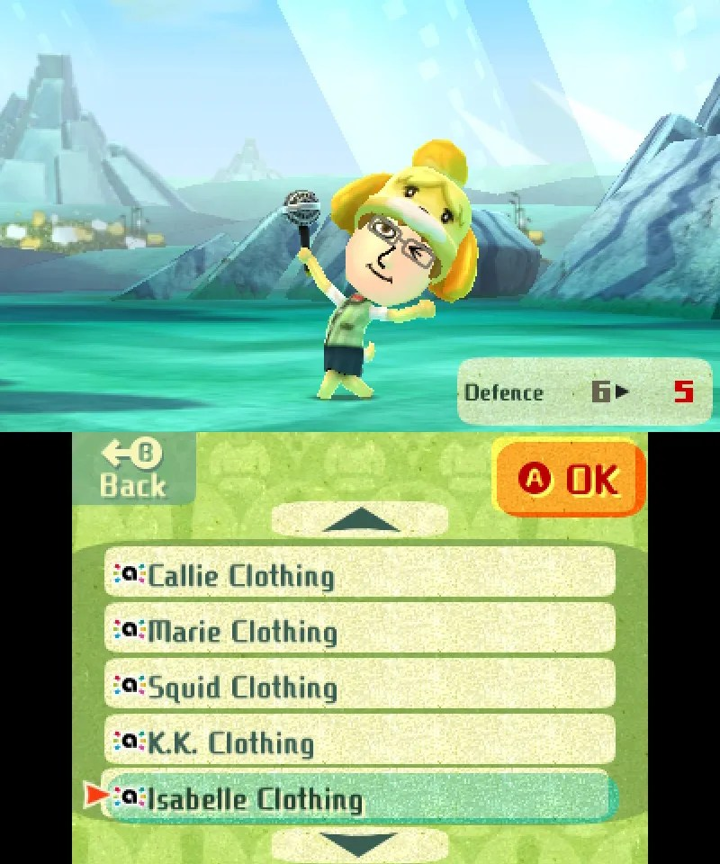 Miitopia amiibo Costume - Isabelle