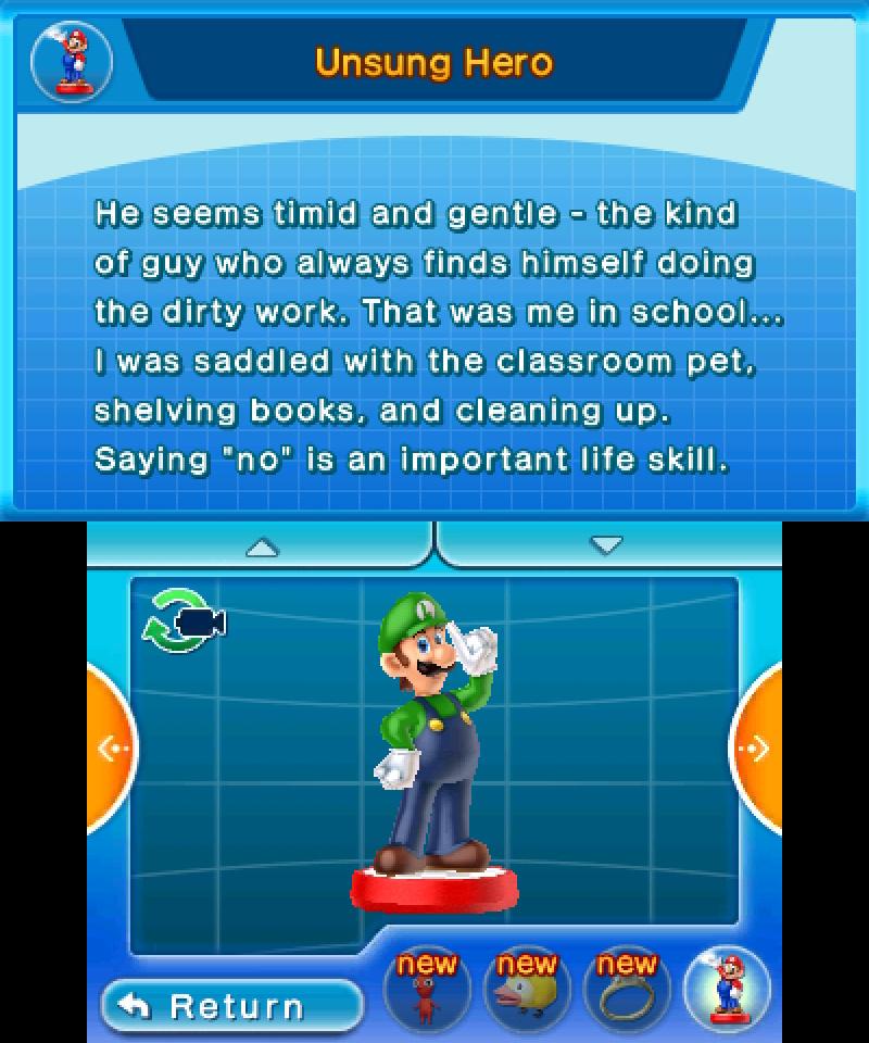 Hey! Pikmin - Luigi amiibo