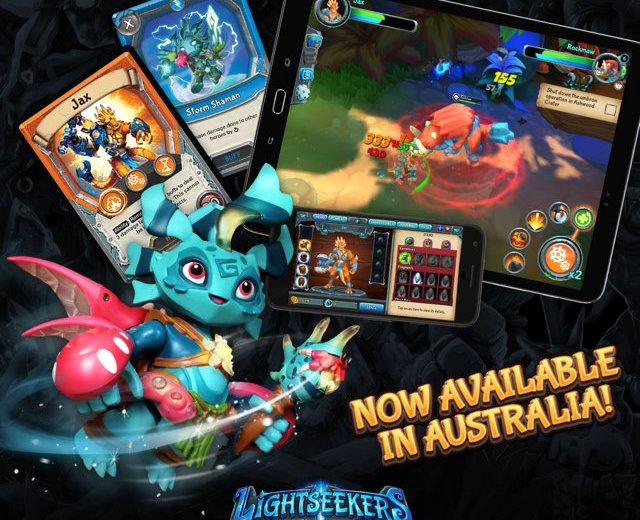 Lightseekers Out Now Australia