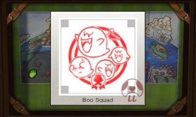 Mario & Luigi: Superstar Saga + Bowser's Minions - Boo Squad Stamp