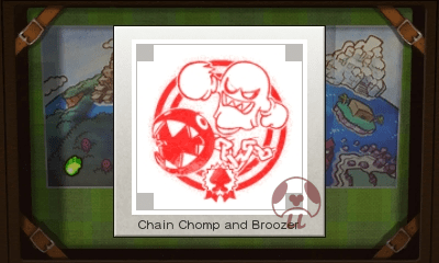 Mario & Luigi: Superstar Saga + Bowser's Minions - Chain Chomp and Broozer Stamp