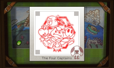 Mario & Luigi: Superstar Saga + Bowser's Minions - The Four CaptainsStamp