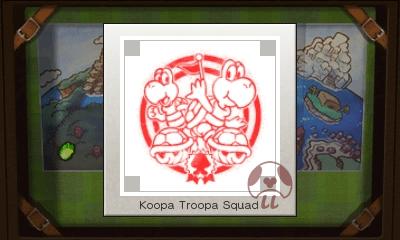 Mario & Luigi: Superstar Saga + Bowser's Minions - Koopa Troopa Squad Stamp