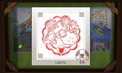 Mario & Luigi: Superstar Saga + Bowser's Minions - Lakitu Stamp