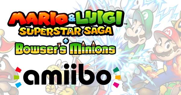 Mario & Luigi: Superstar Saga + Bowser's Minions amiibo Functions