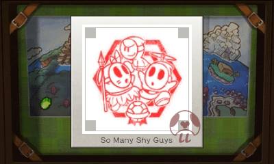 Mario & Luigi: Superstar Saga + Bowser's Minions - So Many Shy Guys Stamp