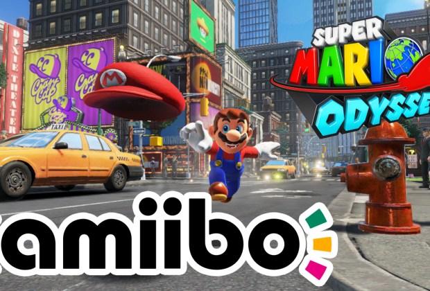 Super Mario Odyssey - amiibo Functions Guide