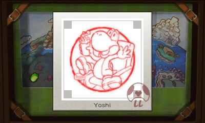 Mario & Luigi: Superstar Saga + Bowser's Minions - Yoshi Stamp