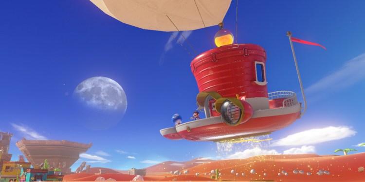 Super Mario Odyssey on Nintendo Switch