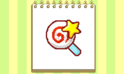 New Style Boutique 3/Style Savvy 3 - Kirby amiibo emblem