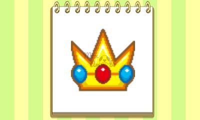 New Style Boutique 3/Style Savvy 3 - Peach amiibo emblem
