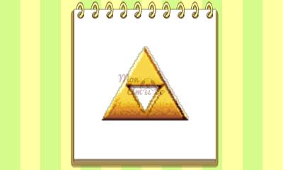 New Style Boutique 3/Style Savvy 3 - Legend of Zelda amiibo emblem