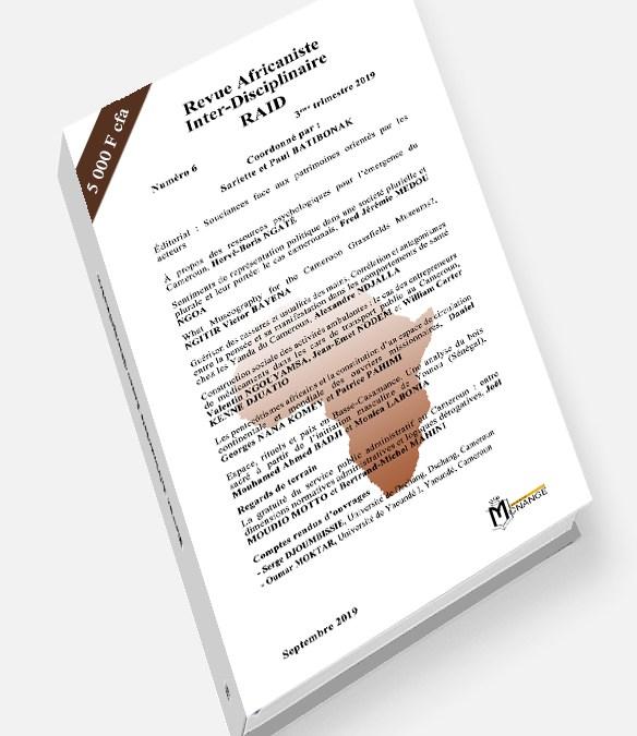Revue Africaniste Inter-Disciplinaire RAID 6