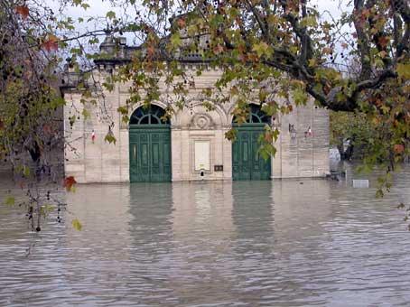 Inondation Tarascon Beaucaire