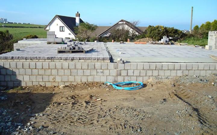 Concrete Building Blocks Spit Faced Textured Blocks Fair