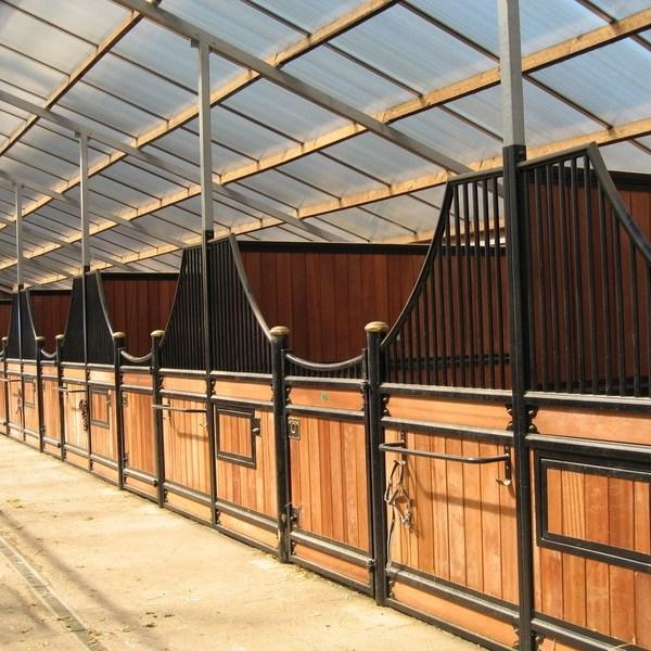 Majestic Victorian inside a steel framed Monarch Barn