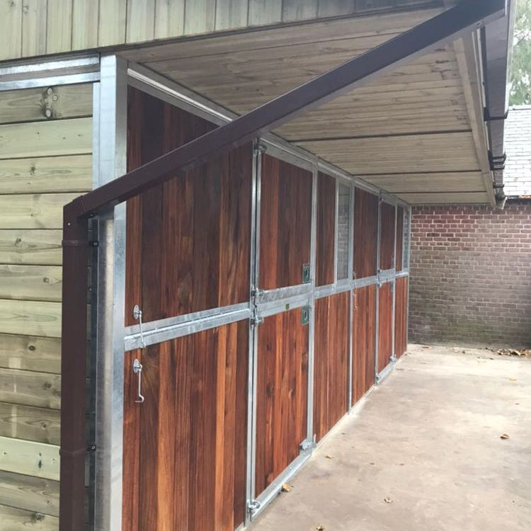 External Hardwood/Timber Stables by Monarch Equestrian