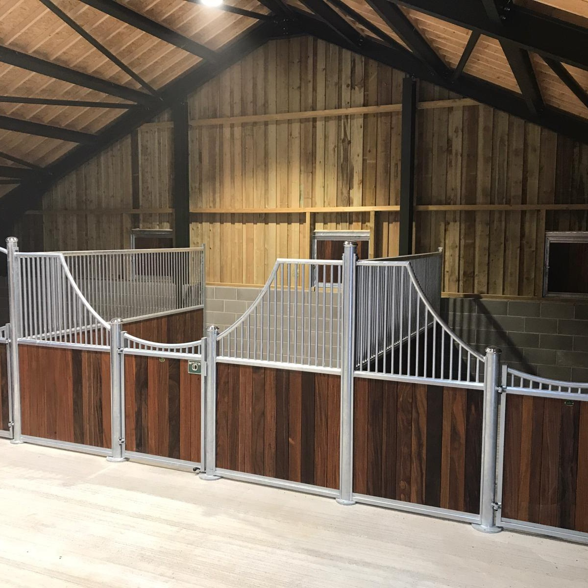 Hardwood Internal Stables by Monarch Equestrian