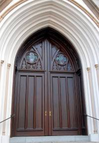 Gothic Style Double Entry Church Doors | Monarch Custom Doors
