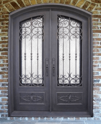 Wrought Iron Door & Old World Style Scroll Work | Monarch ...