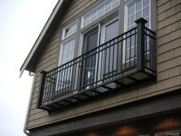 Simple Juliet Balcony Railing