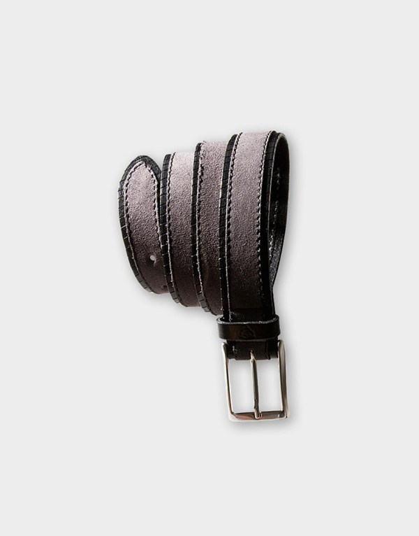 Curea Roy Robson Galerie Guertel - Belt Leather Suede 220 Lei