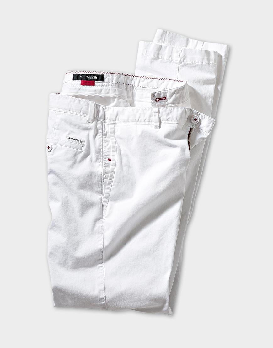 Pantaloni Roy Robson Open Spirit Look - Chinos White 429 Lei