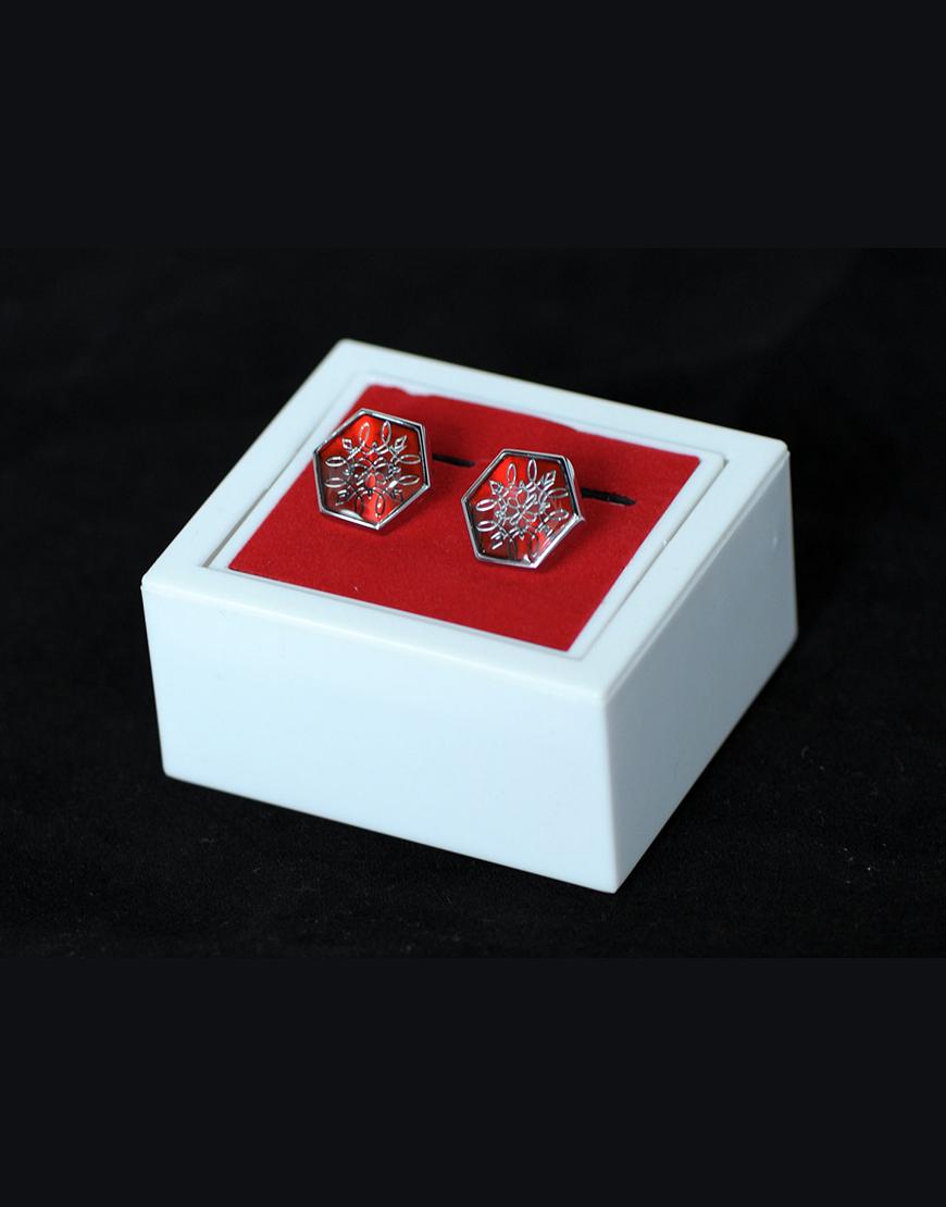 Butoni Camasa Hexagonali Eleganti 100 Lei