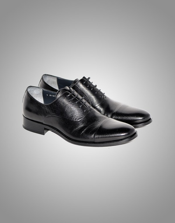 Pantofi Barbatesti Negru Mat Piele Naturala 650 Lei