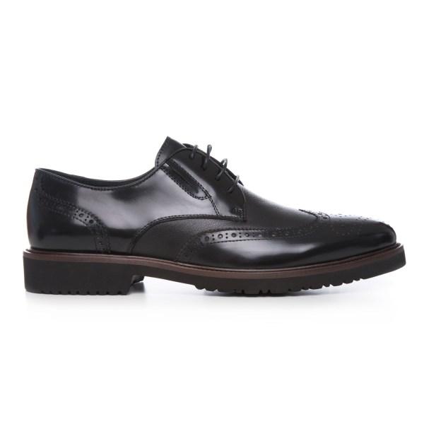 Pantofi Barbati Oxford Negri  Lei
