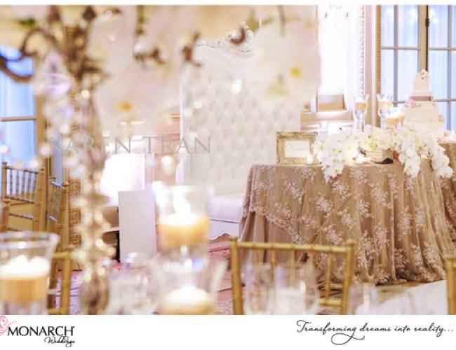 Lace-overlay-linen-blush-french-vintage-westgate-hotel-wedding