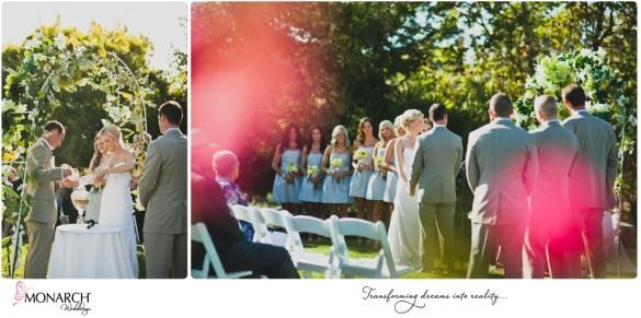 Rustic-chic-wedding-del-sur-ranch-house-sand-ceremony