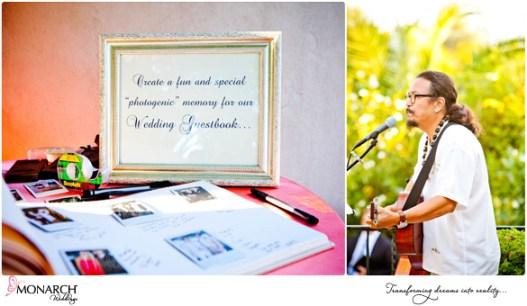 Prado-Balboa-Park-Coral-Pink-Tropical-Wedding-Gonzo-Guitarist