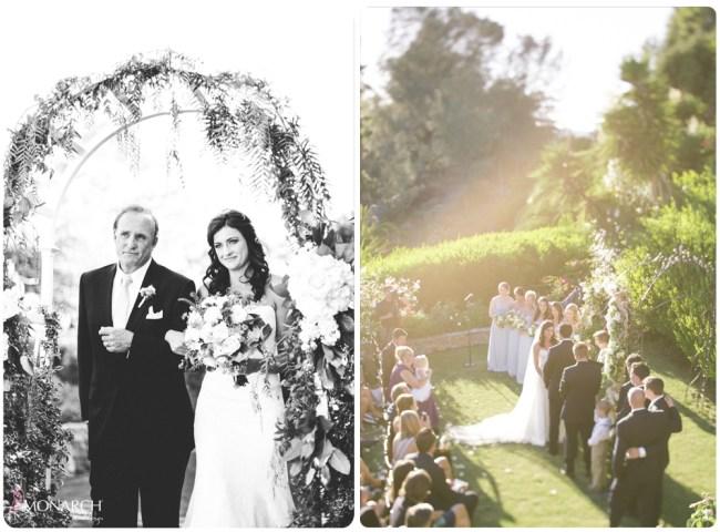 Garden-Chic-Rustic-Wedding-Ceremony